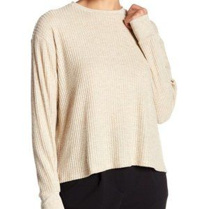 Project Social T Waffle Knit Thermal Shirt L